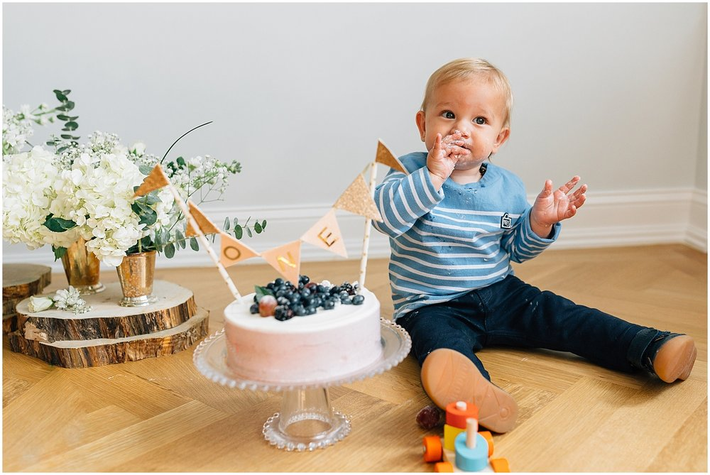 The Sterk Family 1st Birthday Session In NYC Yumi Matsuo