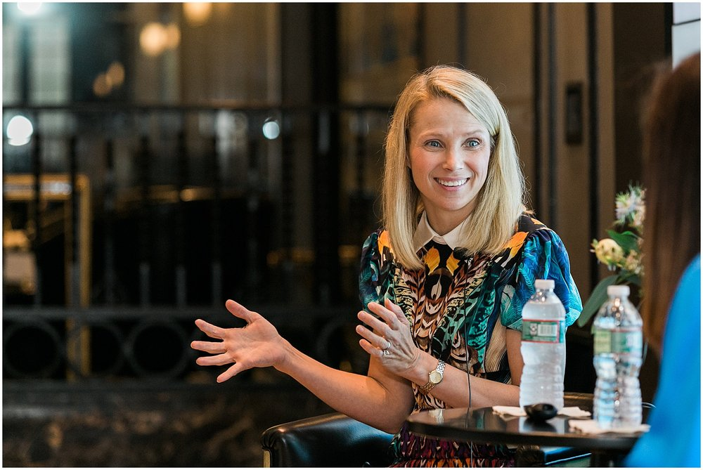 Marissa Mayer  CEO Summit