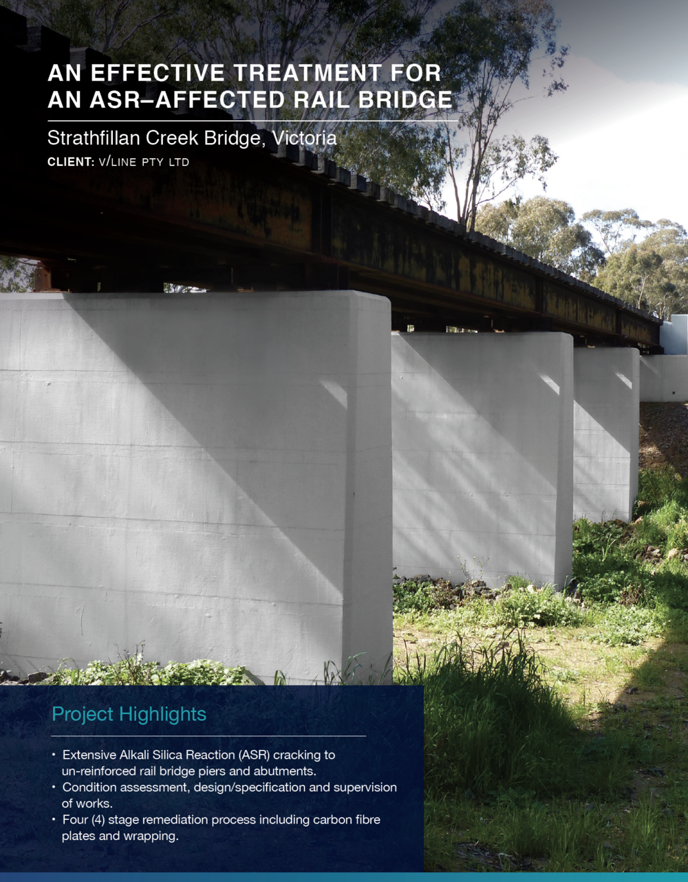 Click to view  Strathfillan Creek Bridge Case Study
