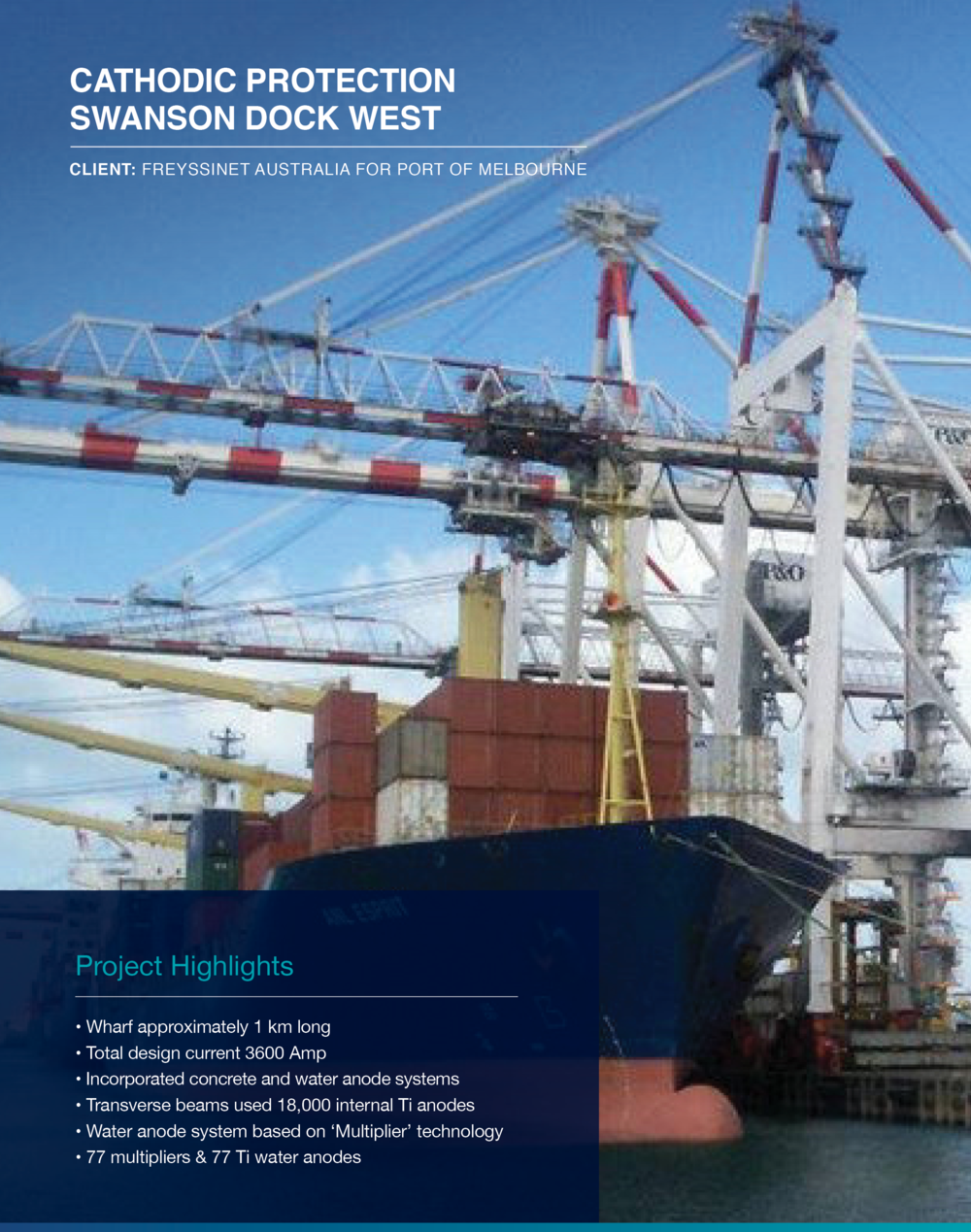 Click to view  Swanson Dock West  Case Study