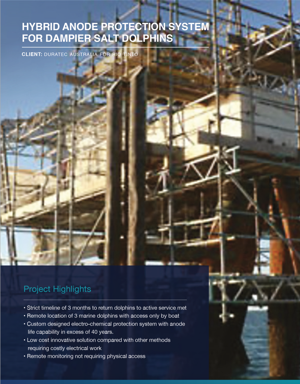 Click to view  Dampier Salt Dolphins  Case Study