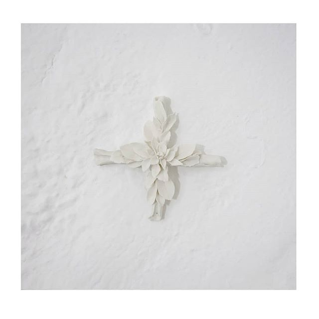 The last available porcelain cross from my recent exhibition at Stockroom. Get in quick! Contact @stockroomkyneton for details xx