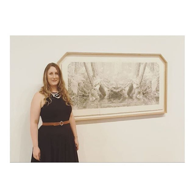 What a blur ✨ Opening Night of Dobell Drawing Prize #21 at @nas_au . Huge congratulations to winners Justine Varga and highly commended Tony Albert, and a million kisses to my adopted sis @artsywhitten you da literal bomb girl 🧨