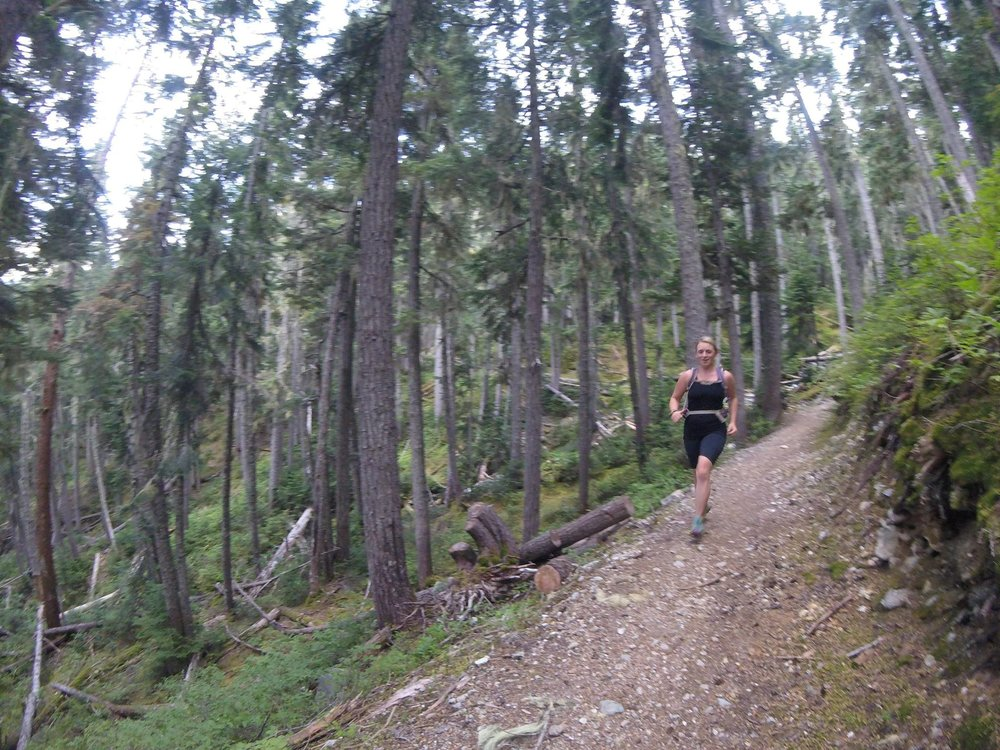 Trail Running The Singing Pass before the Salomon Valley to Peak Race