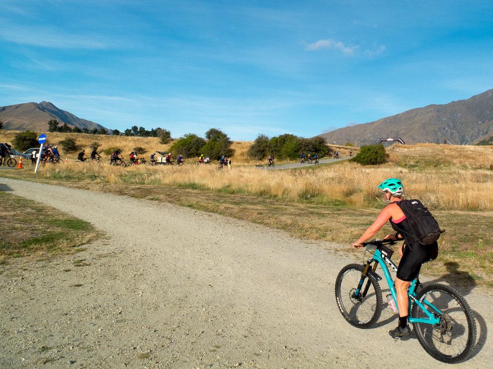 Hitting the Motatapu Trail