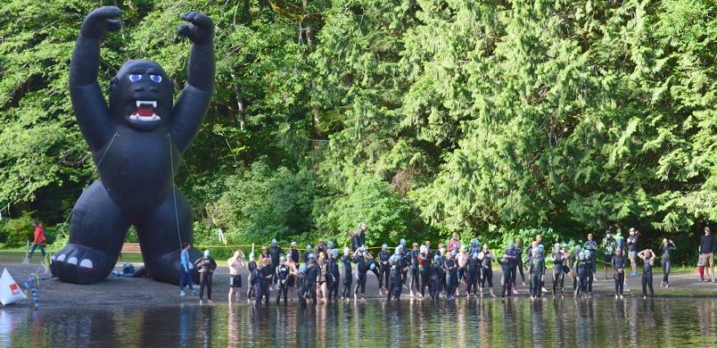 Alice Lake Swim Start