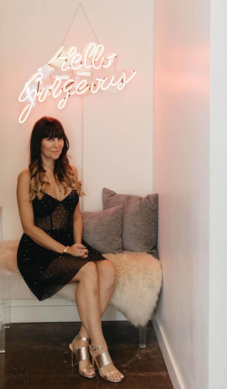 Cheri Wroblewski, Owner of Lash & Beauty Lab