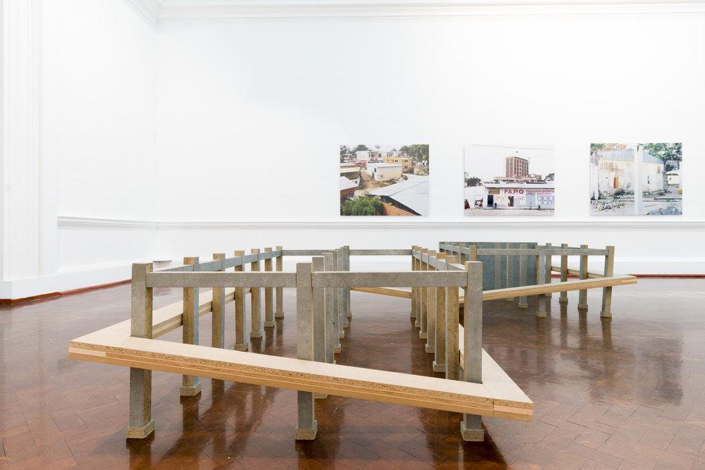 Ângela Ferreira, Maison Tropicale (footprints)