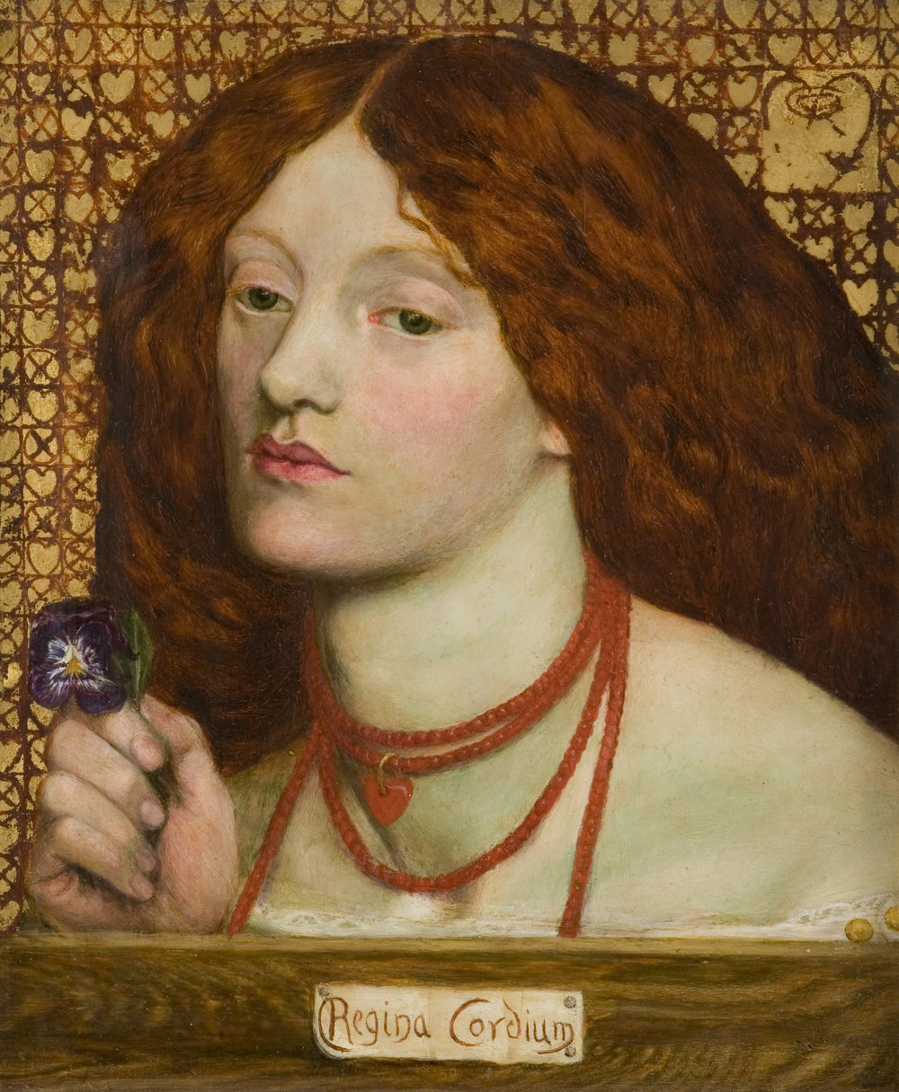 Dante Gabriel Rossetti 'Regina Cordium'