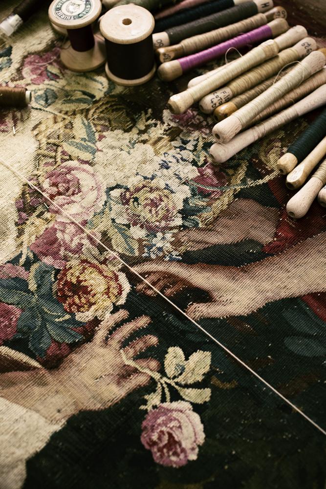 Manufacture des Gobelins - Tapisserie du XVIIe siècle