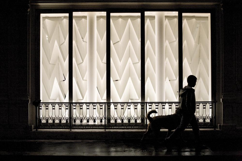 Sojigami (Plissés de papier)de Yohji Yamamoto
