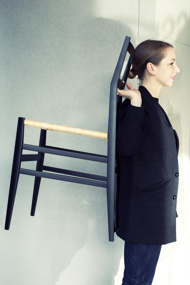 """Alice Etcaetera - Designer - Chaise """"Superleggera"""" de Gio Ponti."""