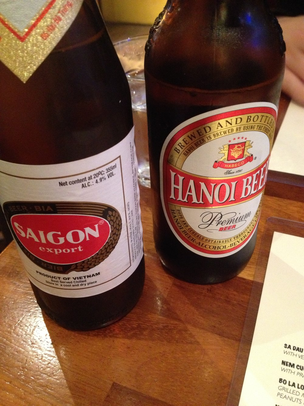 The Hanoi Bike Shop beers