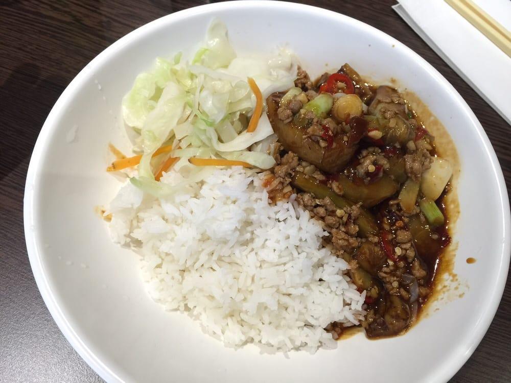 Hong Kong bite Glasgow rice aubergine