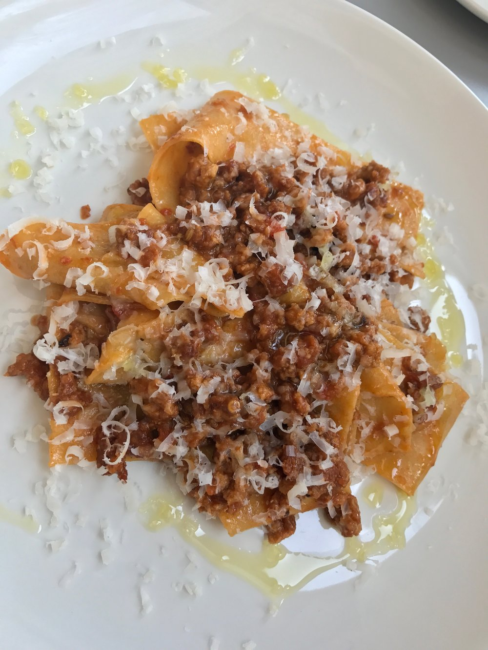 Pork and fennel ragu pappardelle