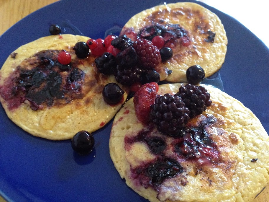 Clean and lead oat pancakes recipe healthy The Glasgow Food Blog