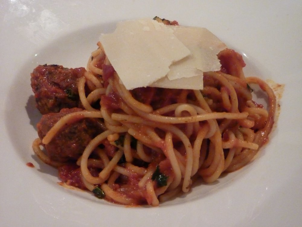 Spaghetti starter at Barbarossa