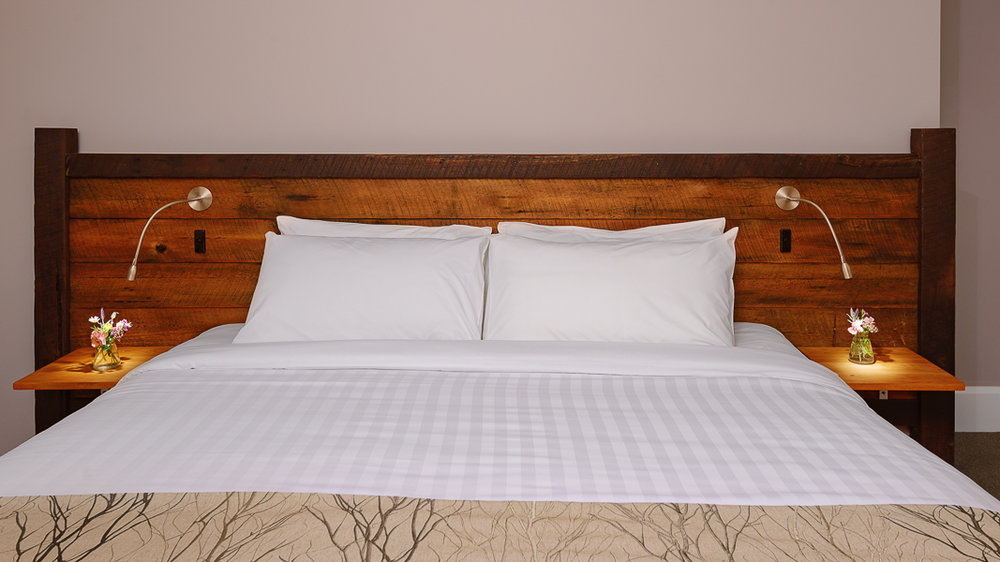 Jarrah Headboard Upcycled from Foundation Jarrah Posts.jpg