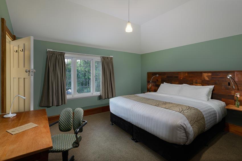 The Rimu Super King Room Sunny Northfacing Tree & Garden View Eco Villa Unique Christchurch Accommodation.jpg