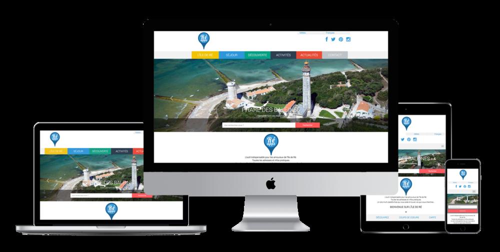 Ré'Apps - Produit e-tourisme sur l'Ile de Ré.