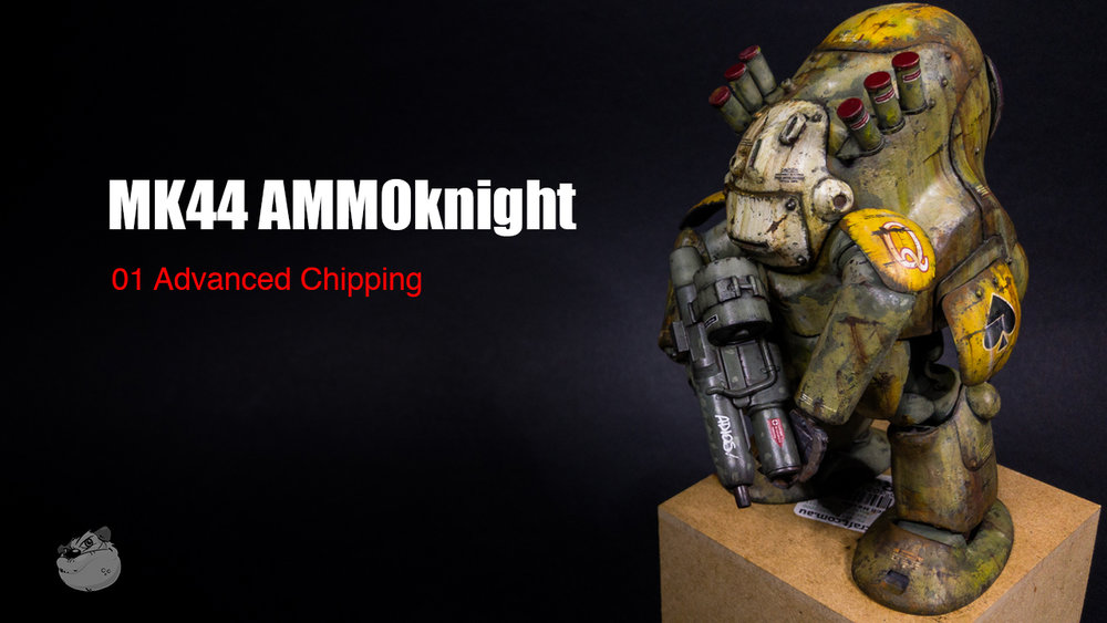 Ma.K Studio Artist Lincoln Wright Masterclass MK AMMOknight 01 Advanced Chipping