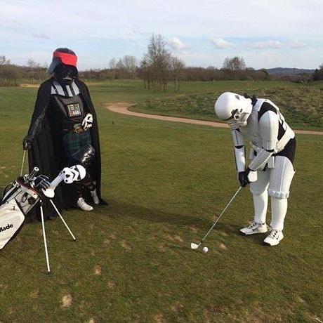 May the 4th... #golf #teecil #golfgram #instagolf #golfstagram #teecils #golfteepencil #golflife #golf⛳️ #golfing