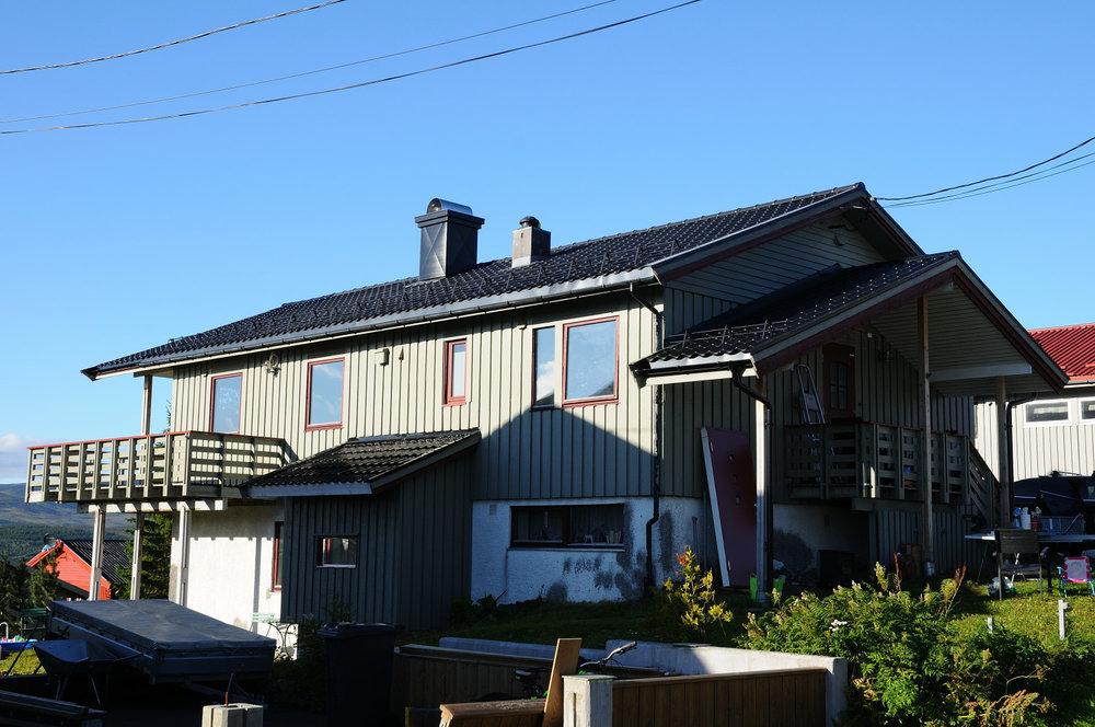 Pipebeslag produsert og montert for kunde i Tromsø