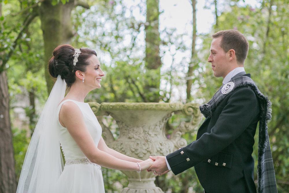April & Chris - Wedding ~ West tower