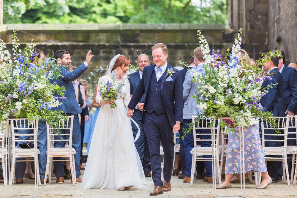 Amy & Oliver - Wedding Part II ~ Kirkstall Abbey