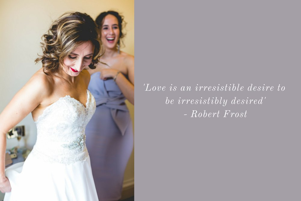 'Love is an irresistible desire to be irresistibly desired' - Robert Frost.jpg