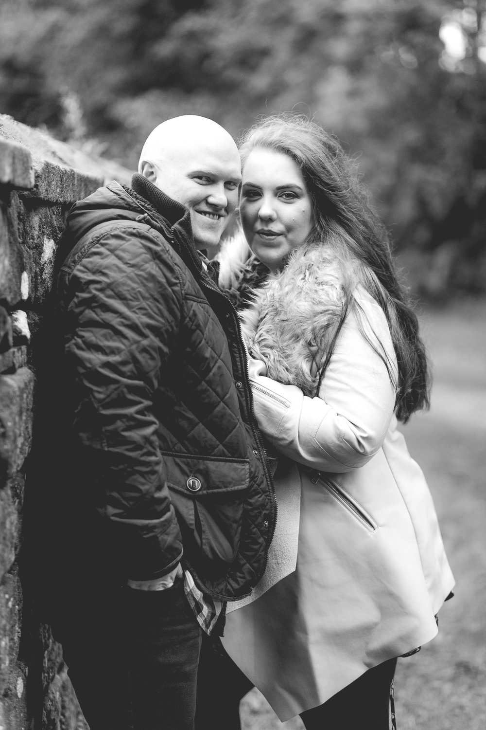 B&W-6-Melissa & Adam-Engagement-Wycoller Country Park-Lancashire-photo.jpg