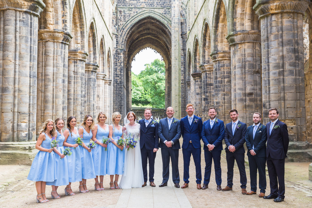 Historic Venue Kirskstall Abbey Wedding Leeds