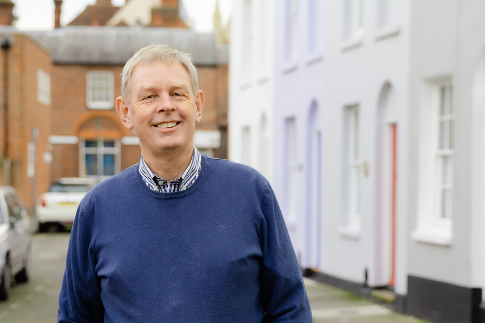 JOHN BAILEY  John is based at our Canterbury site. He has retired from working in pharmacy and management and is now actively involved in many areas of church life. John jointly oversees pastoral care in Canterbury and supports our Canterbury site leads and members. He is married to Kathryn Bailey and they have grown up children.