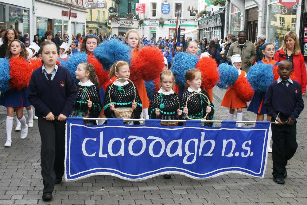 Claddagh NS Parade Banner.JPG