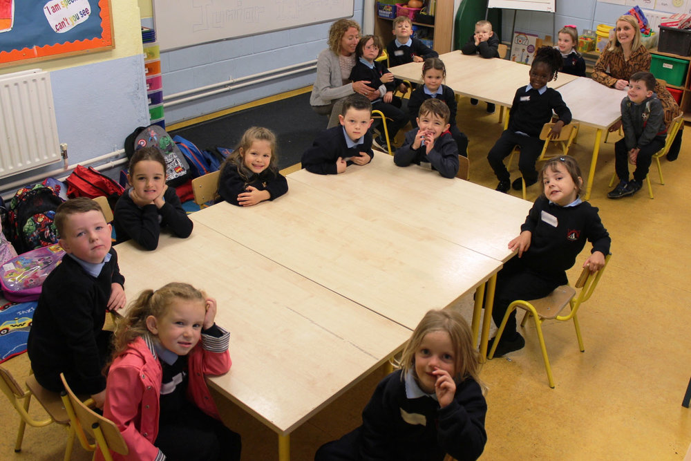 Junior Infants 2018-2019 First Day at School Glynn.JPG