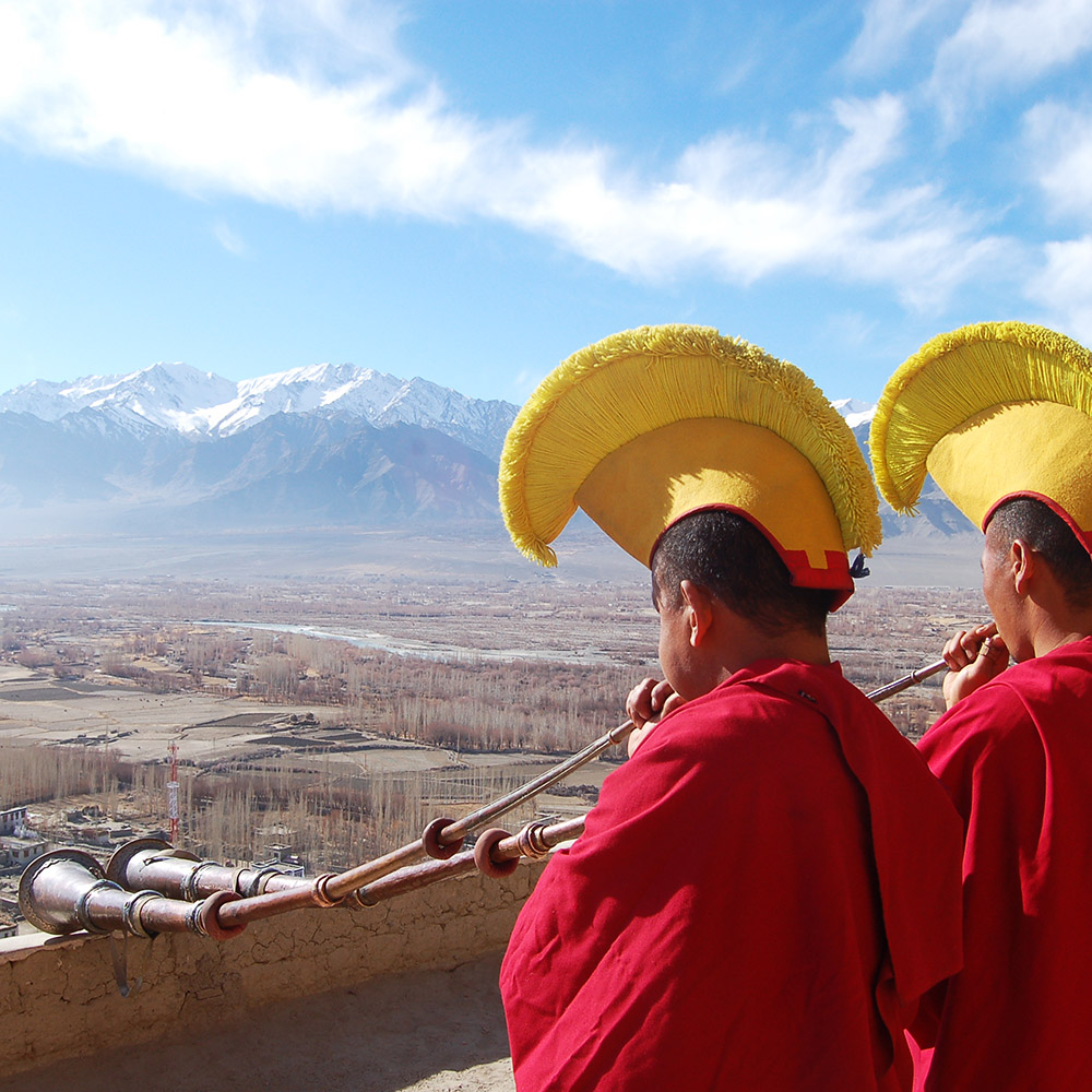The Tibetan Monks of Tashi Lhunpo Monastery