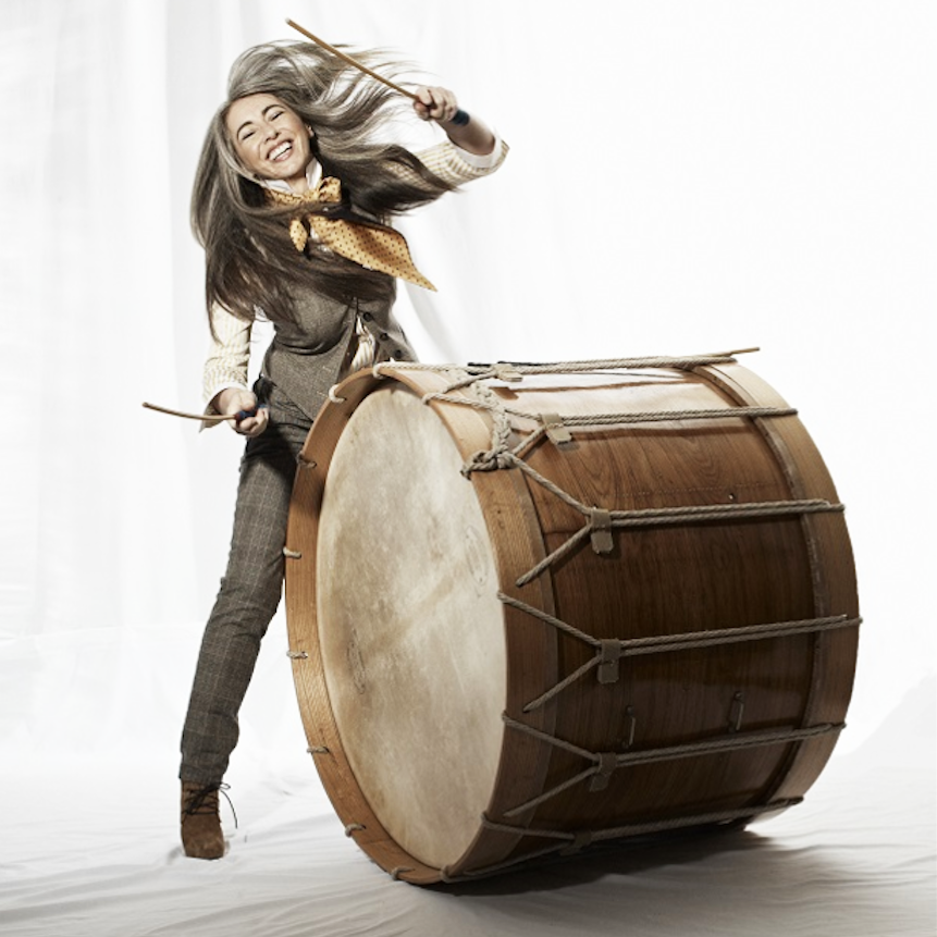 Evelyn Glennie © Phillip Rathmore/Brigitte