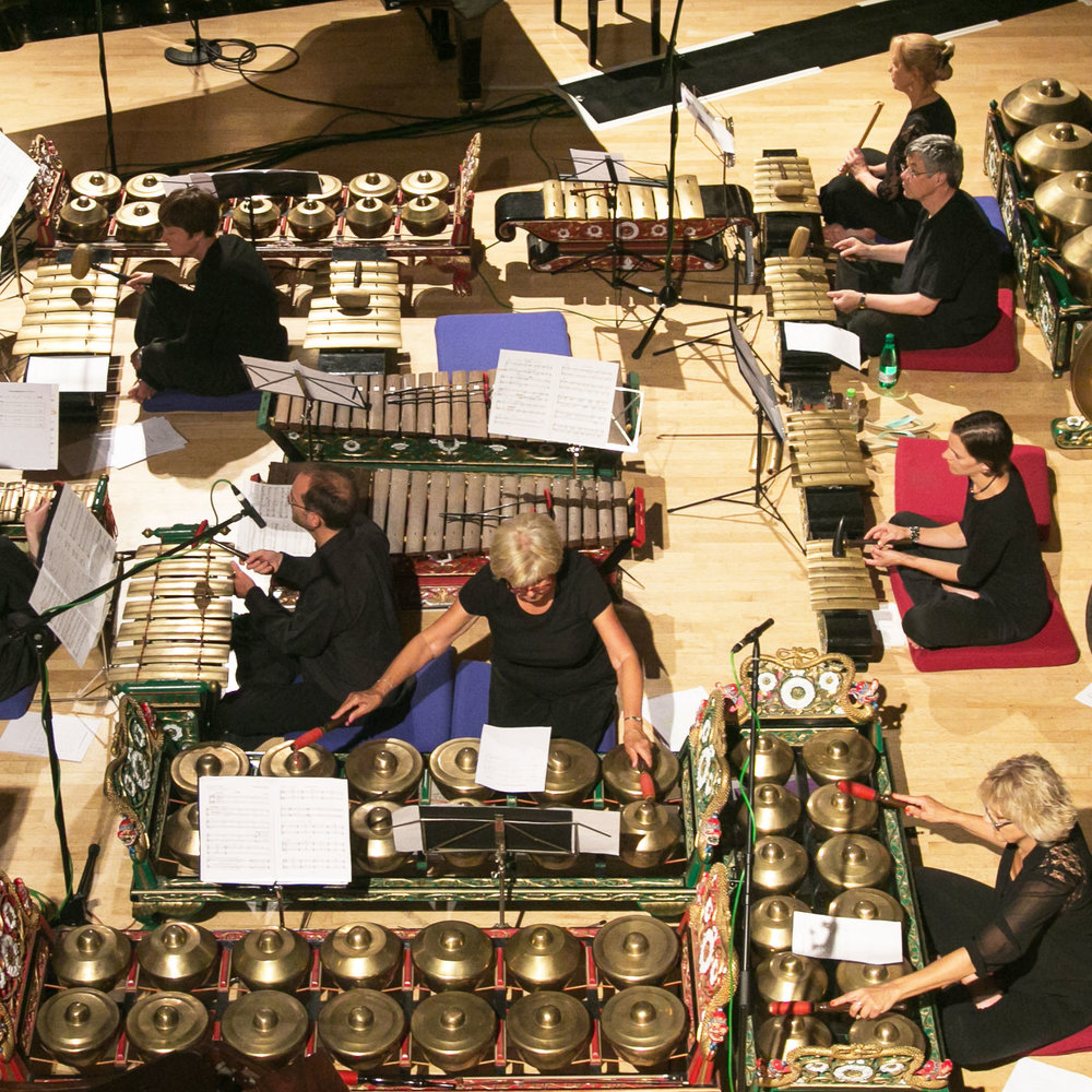 Gloucestershire Community Gamelan Players © McPherson Stevens