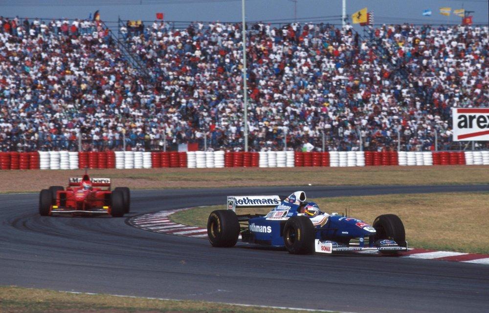 Jacques Villeneuve at the 1997 Argentine Grand Prix. Photo: Sutton.