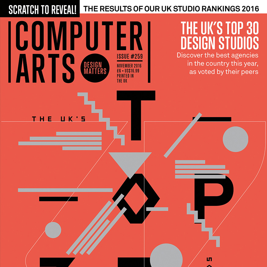 Freytag Anderson in Top UK Design Studios feature We were delighted to have been selected by a panel of our peers to feature in the Computer Arts magazine Top UK Design studios feature in issue #259 out now. We are one of only two Scottish agencies mentioned along with our friends at D8.