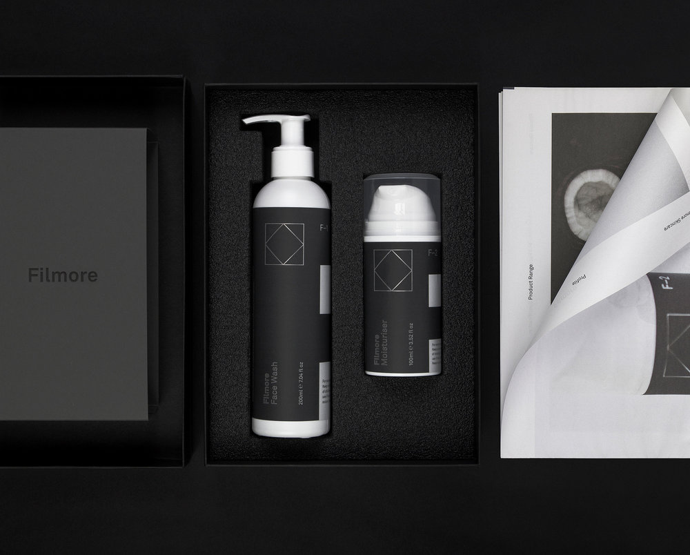<b>Filmore</b><br>An identity based on the simple idea that skincare should be 'a routine not a regime'