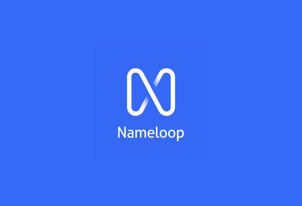 Copy of <b>Nameloop</b><br>An intuitive identity for a super-smart product