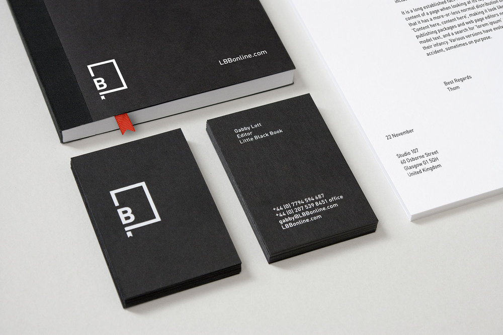 Copy of Copy of <b>Little Black Book</b><br>A simple idea for the ideas industry