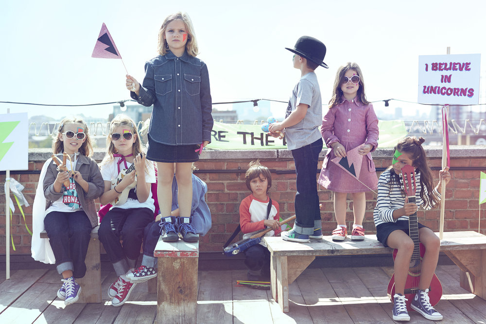 <b>The Fableists'</b><br>A tale about beautiful kids' clothes, underpinned by sustainability