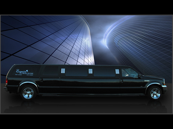 12 Passenger Ford Excursion (Black)