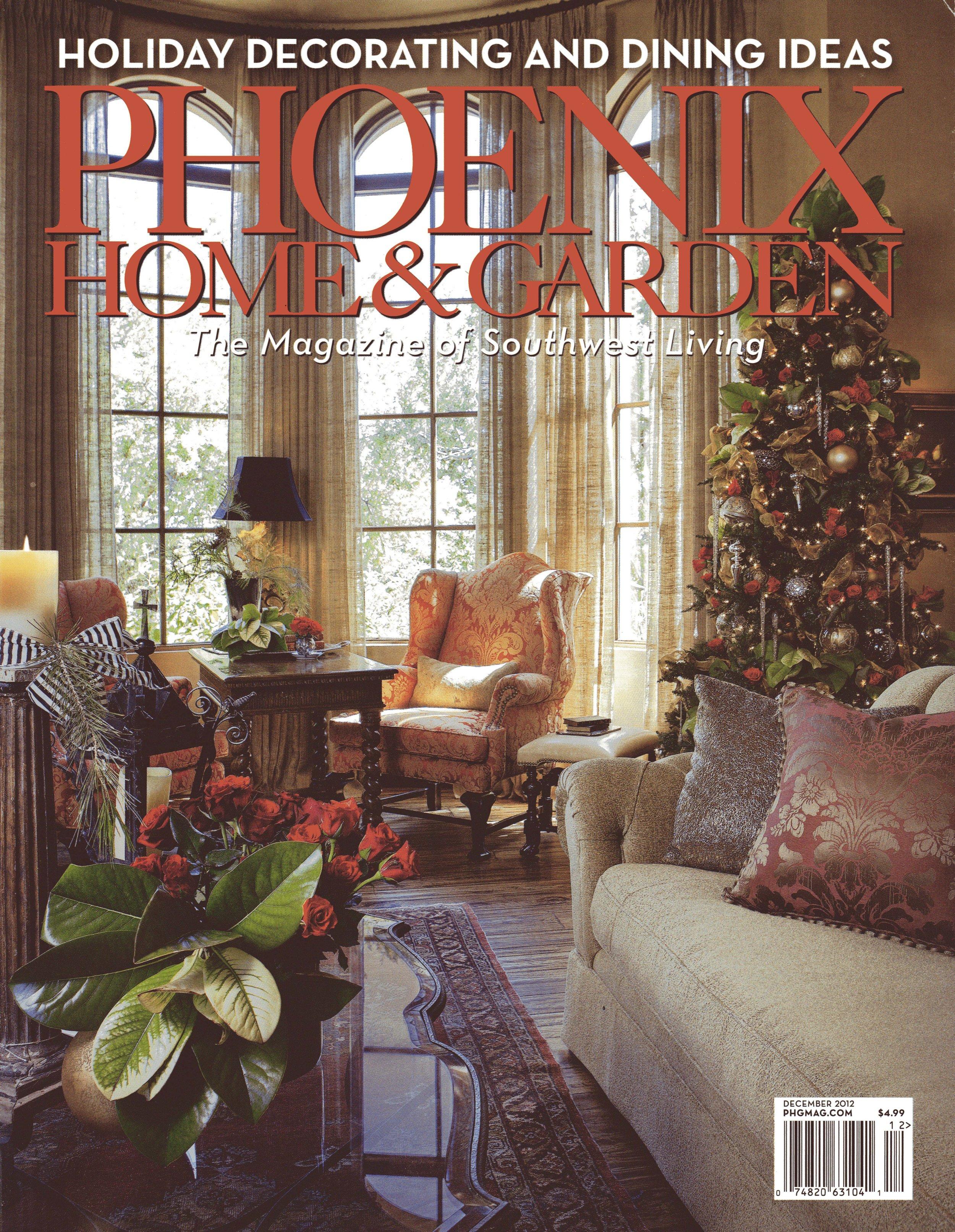Editorial Feature: Phoenix Home U0026 Garden December 2012