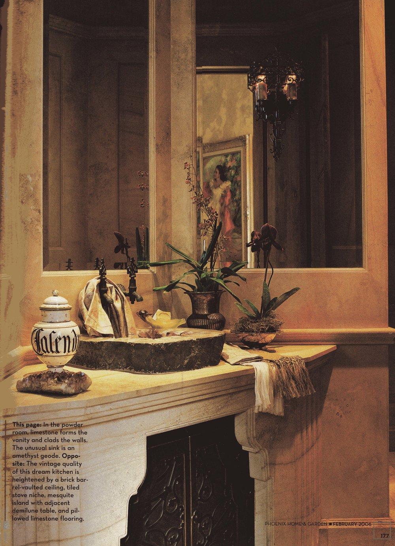 unusual phoenix home and garden. Editorial 10 jpg Feature  Phoenix Home Garden February 2006