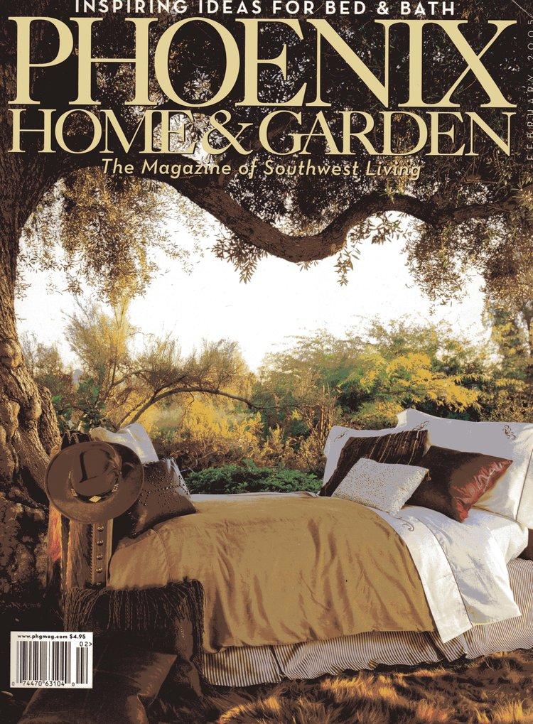 unusual phoenix home and garden. Editorial 27 jpg Feature  Phoenix Home Garden February 2005