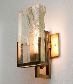 Ralph Pucci | Lianne Gold | Glass Sconce