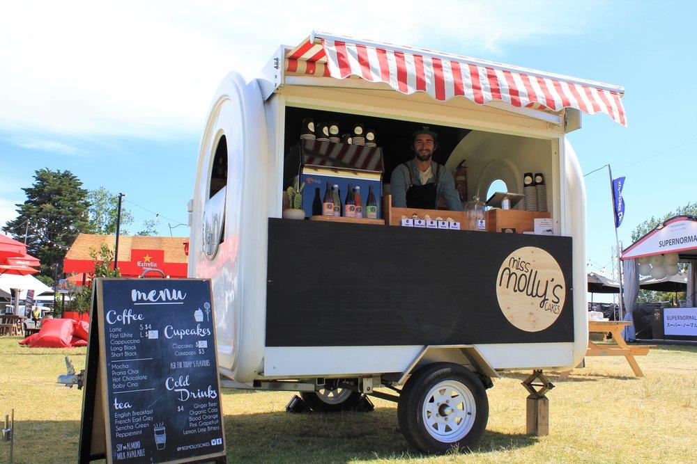 Miss Molly's Coffee & Cupcake Cart